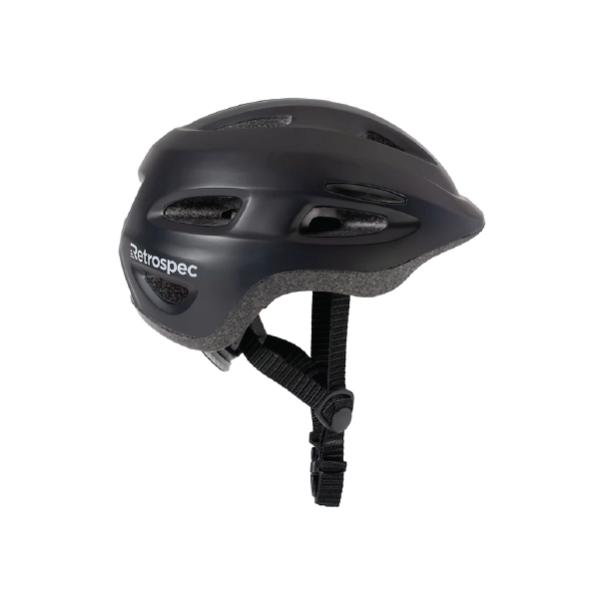 Retrospec Scout-1 Youth Bike & Skate Helmet - Matte Black / Size S (49-53cm)