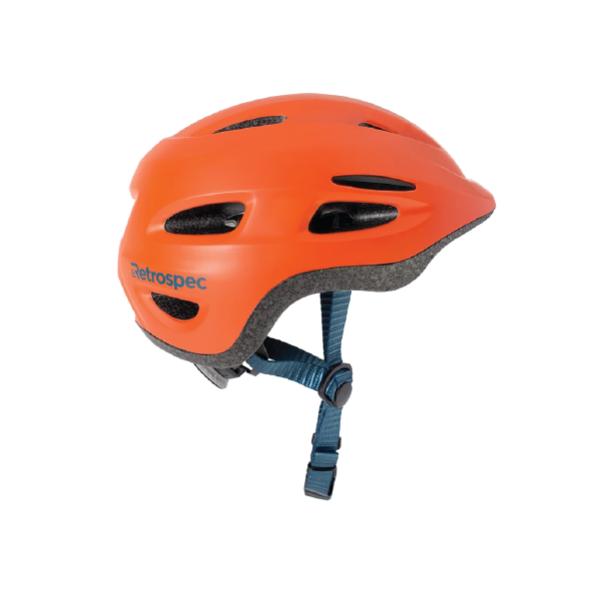 Retrospec Scout-1 Youth Bike & Skate Helmet - Matte Burnt Orange / Size XS (45-49cm)
