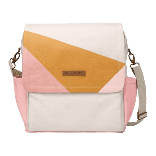 Petunia Pickle Bottom Boxy Backpack - Birch/Macaroon
