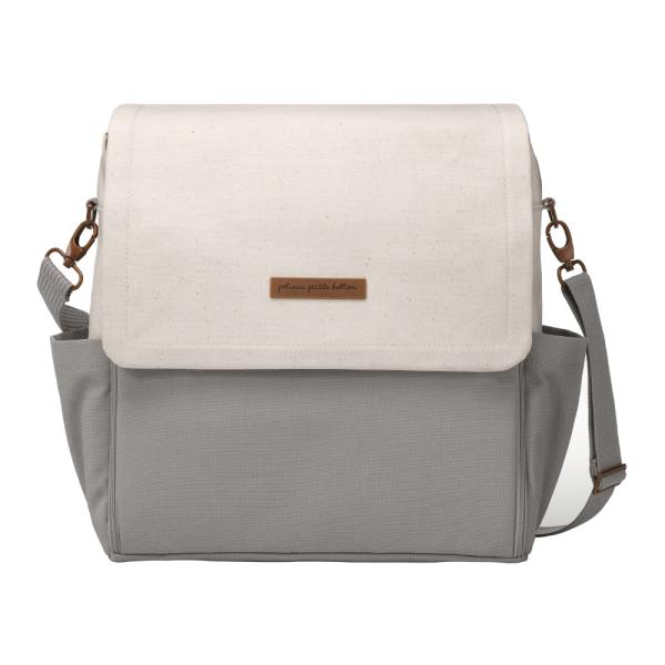 Petunia Pickle Bottom Boxy Backpack - Birch/Stone